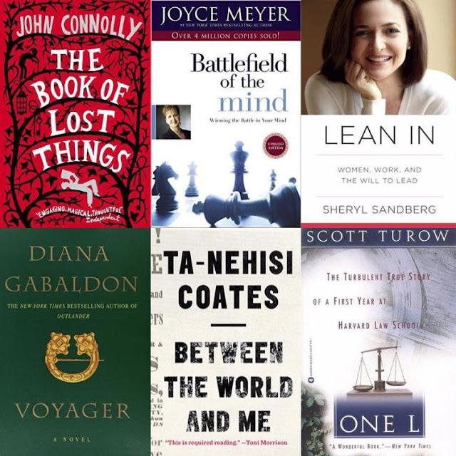 Summer 16  Book List